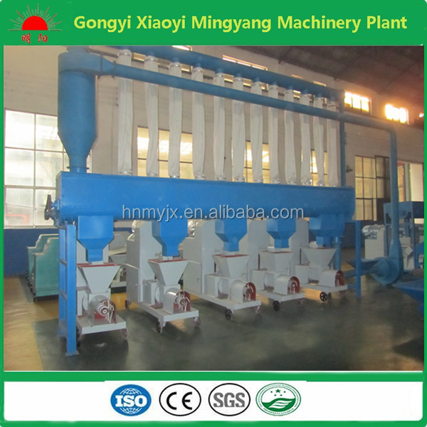 Waste recycling wood sawdust hexagon briquette charcoal machine 008615803859662