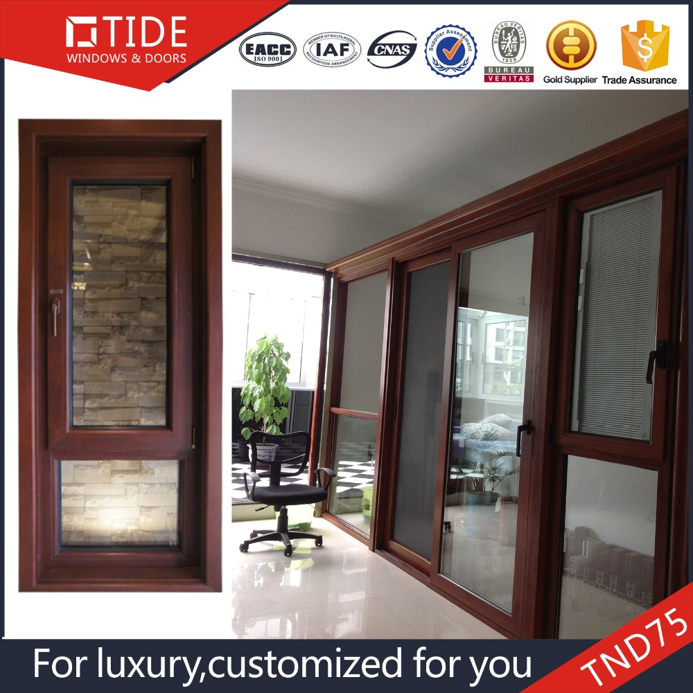 OEM Aluminum wood inward and outward opening Tilt and turn window hinges