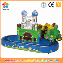High quality entertainment equipment coin operated game machine kids electric amusement train rides