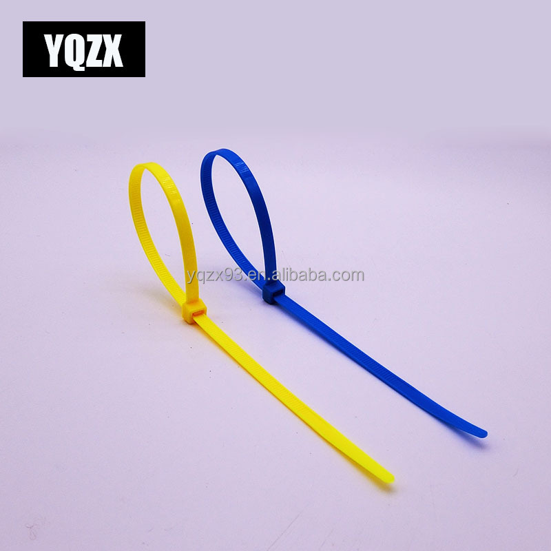 Factory manufacturer zip tie heat resist cable tie red blue green yellow orange self locking plastic cable tie straps