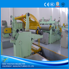Hot sale high quality high frequency steel sheet coil slitting line or slitting machine