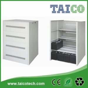 12v 65ah, 100ah, 200ah battery cabinet suitable for 16pieces of batteries