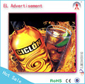 el lighting poster/el advertisement for wine custom/el advertisement wholesale