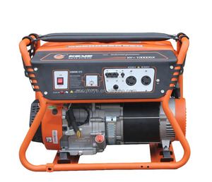 Hot new design 8.0kw home/industry use three phase gasoline portable generator