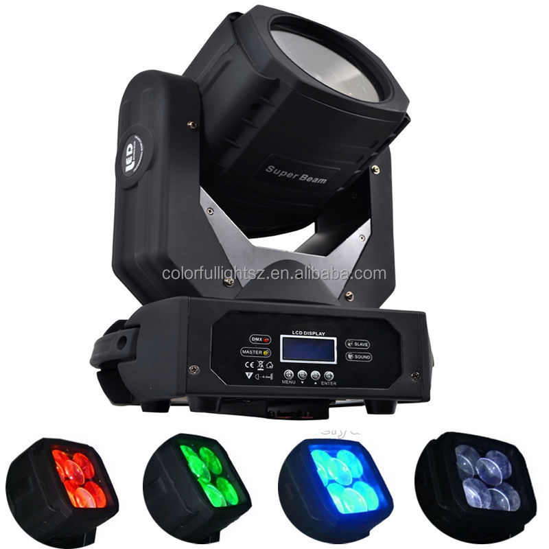 Guangzhou China stage light 4x25w super bright led moving head for stage