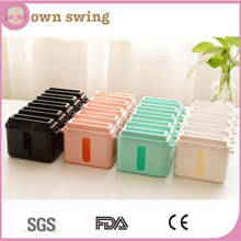Colorful Cable Box Cable Management Wire Organizer Socket Storage Box Large Capacity/Long power cord socket storage box