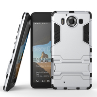 Kickstand mobile phone case back cover for lumia 950