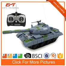 Hot selling 1/30 rc toy remote control truck henglong rc tank model