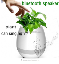 wholesale Wireless intelligent Bluetooth music flower pot with led lights