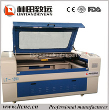 1390 cnc laser cutting machines for business card cutter/Wood laser cutting machine garment plastic pattern cnc laser