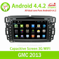 With Smart Phone Mirror Link OBD for Chevrolet Avalanche 2007-2010 Android 4.4.2 car dvd player With Gps navigation