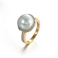 mood ring pearl jewelry pearl ring designs
