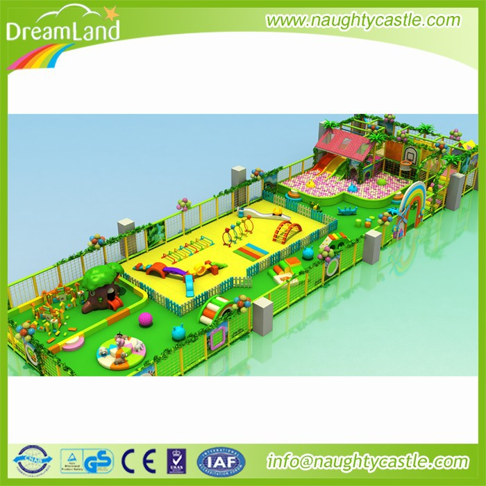 Children Commercial Indoor Playground Equipment Soft Play Area