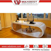 Hot selling luxury executive two person 4 people office desk