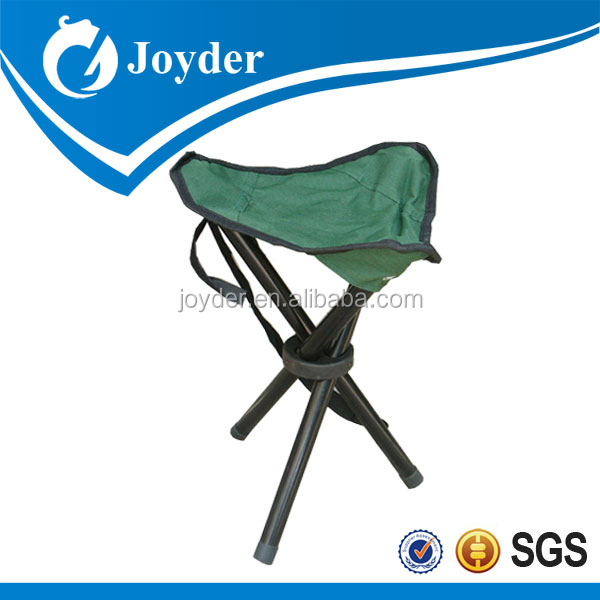 3 legged folding camping adjustable height garden stool