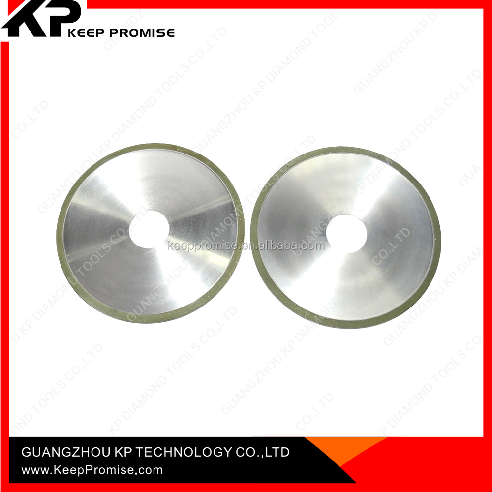 100mm 150mm 180mm 250mm Diamond grinding wheels for cutting carbide / optical glass / Gemstone
