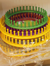 plastic round circle hand knitting loom