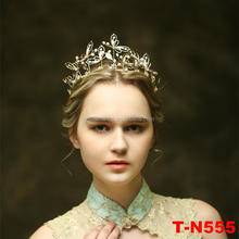 Latest wholesale new unique handmade tall design butterfly charm tiara