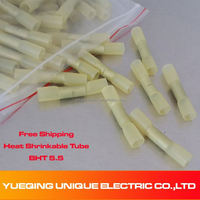 BHT-5.5 Conductor 4.0-6.0mm2 12-10A.W.G solder seal heat shrink butt connectors