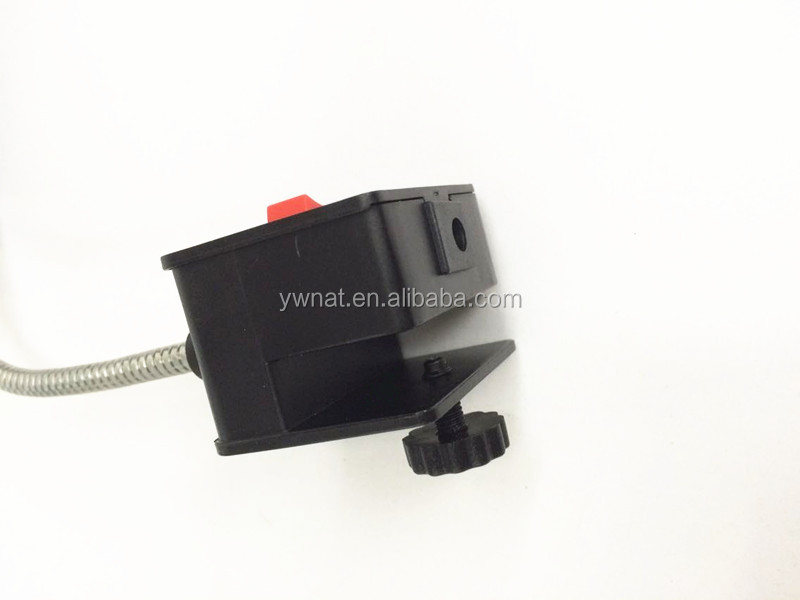 RS58L Aquarium Led Clip Light with Switches and a Adaptor