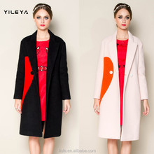 nice design contrasting color styled cheap winter coats latest womens winter coats on sale