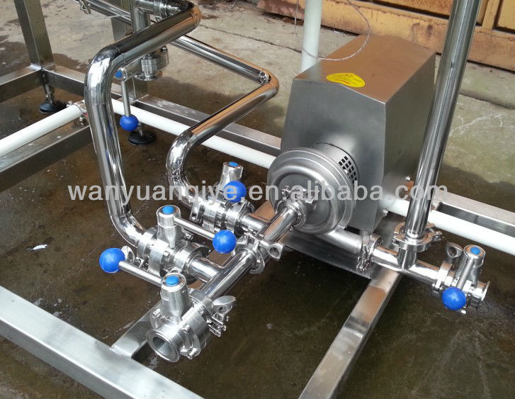 small milk pasteurizer 200L to 300L use single phase electric