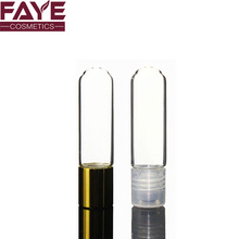 Factory sale screw cap empty transparent ssential oil / perfume roll on glass bottle