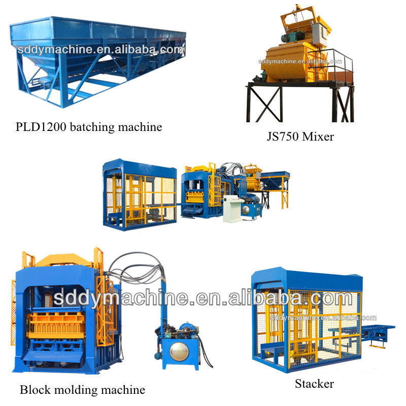 Automatic block making machine manufacture Dongyue brand China famous trademark
