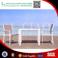 HD designs outdoor furniture Aluminum tesilin table furniture