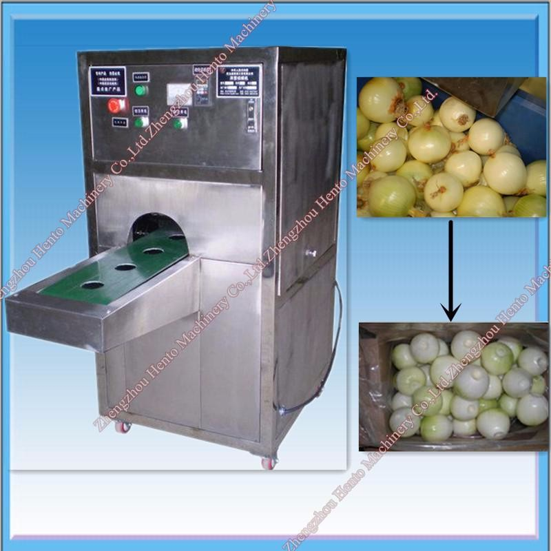 CE Supplier Onion Cutting Machine and Onion Peeling Machine