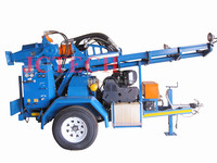 TWD200 Trailer mounted water well drilling rig