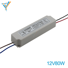 12V 24V 7A 3.5A 80W Waterproof LED Power Supply for LED Module