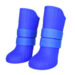 Silicone Waterproof Rain Boots Pet Dog Shoes For Big Large Dog