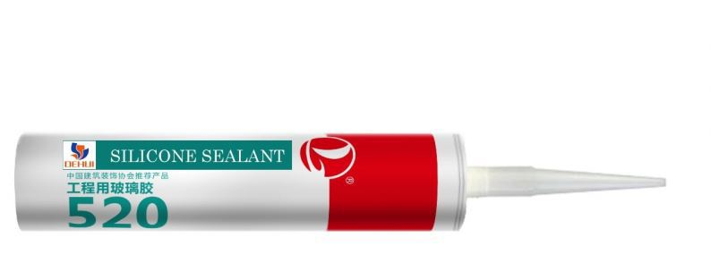 Acetic Silicone Sealant For Massive Glass KASTAR 733