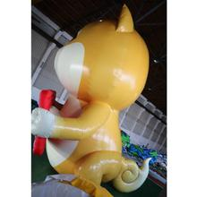 Customized Commercial lovely giant inflatable cartoon dog inflatable model for sale