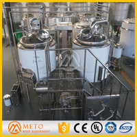 500l stainless steel or red copper brew kettle for sale 5bbl small factory machine