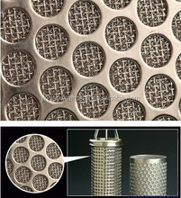 Perforated Net Composite Sintered Wire Mesh