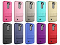 Shockproof armor combo case for LG K10 tpu pc cover with card holder