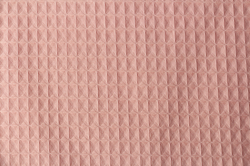 pink top quality 100% egyptian cotton knitted and towelling fabric