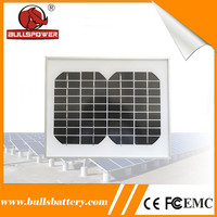 small monocrystalline solar cell solar panel 5w for solar backpack