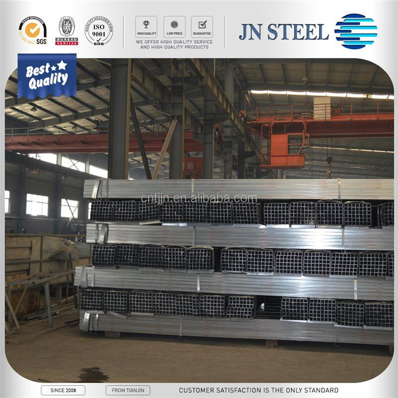 Galvanized Welded Rectangular / Square Steel Pipe / Tube / Hollow Section/SHS / RHS