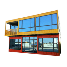 Hot Sale Double Layer Corrugated Modular Container House Prefab Home