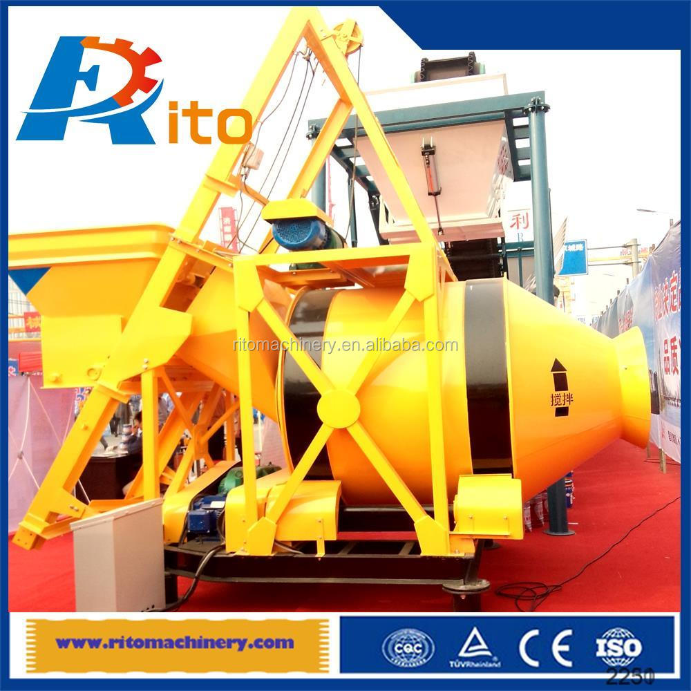 jzc350 hand operated concrete mixing cheap best quality 2016hot sale