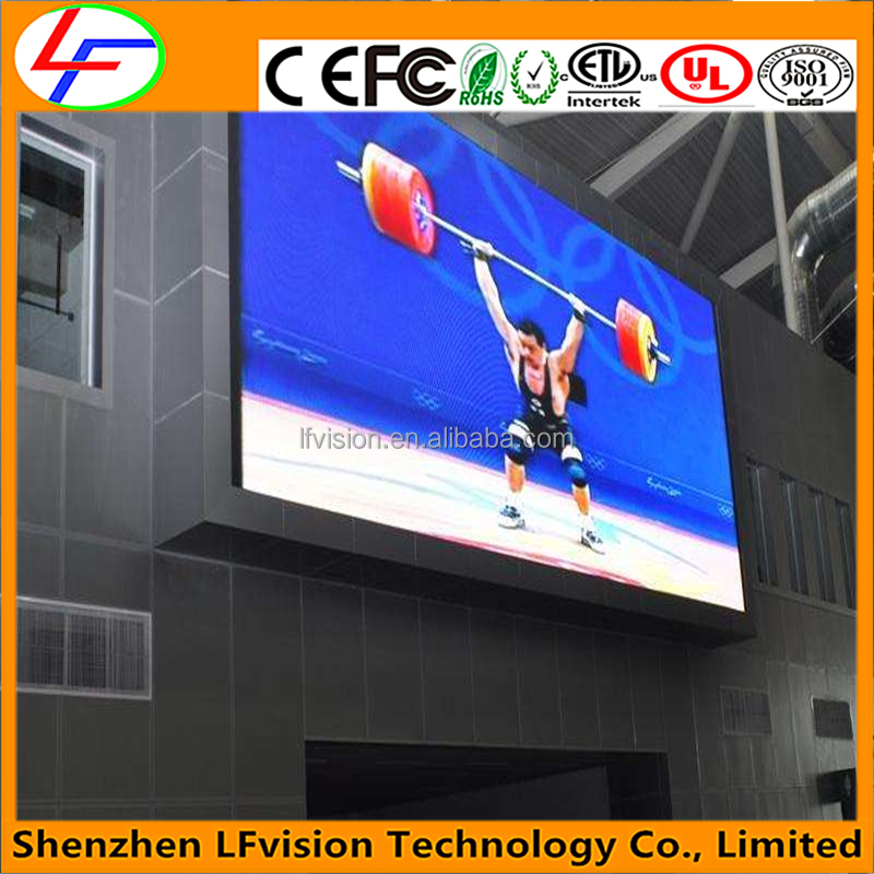 Top Selling Products In Alibaba Big Outdoor Full Color DIP P20 Fixed LED Display Advertising Billboards
