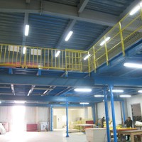 Metal Storage Rack Multi-level Mezzanine Floor Racking System