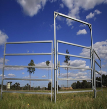 livestock field farm fence gate for cattle or horse