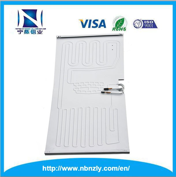 2017 new pruducts aluminum plate copper tube freezer evaporator