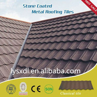 building material colorful stone coated metal roof tile, durable colorful stone coated metal roofing tiles