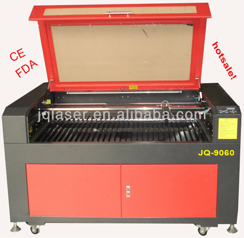 rubber bracelet making machine/laser engraver machine for bracelet JQ6040