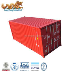 Non - used dry cargo container type 6ft 8ft 10ft 20ft 40ft steel container in stock in Shanghai